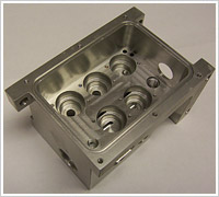 CNC Milling of Aluminum Main Module for the Military Industry